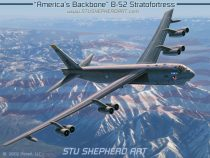 "B-52 Stratofortress ""America's Backbone"""