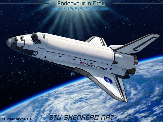 Hd Space Shuttle In Orbit Pics About Space