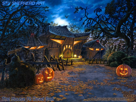 the house at dead end stu shepherd art