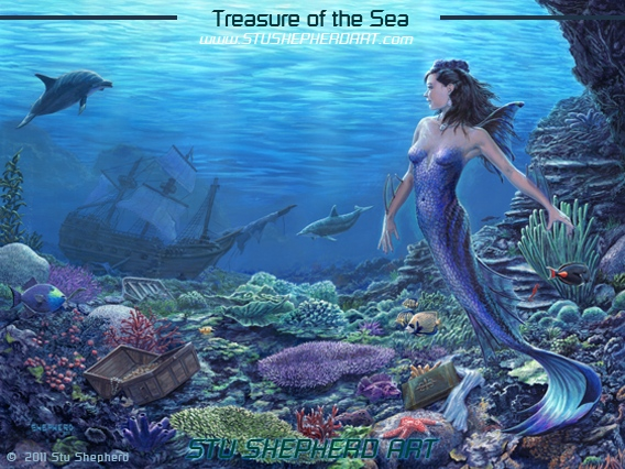 treasures of the sea