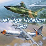 Jet Age Aviation Art